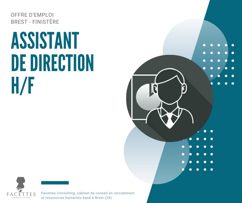 Assistant de direction h f facettes consulting cabinet de recrutement et conseil en - Cabinet recrutement assistanat haut niveau ...
