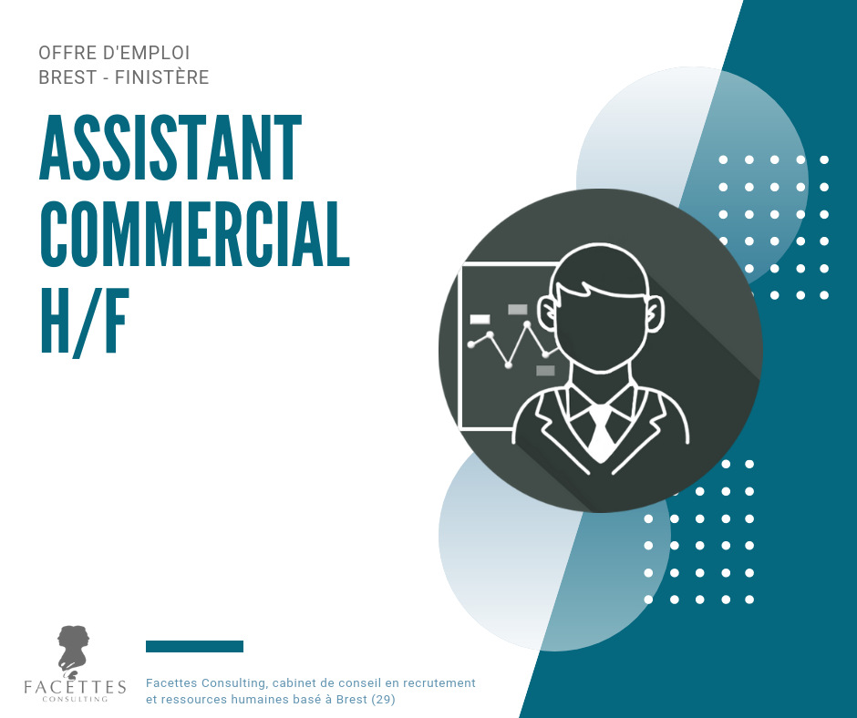 offre emploi brest facettes consulting assistant commercial