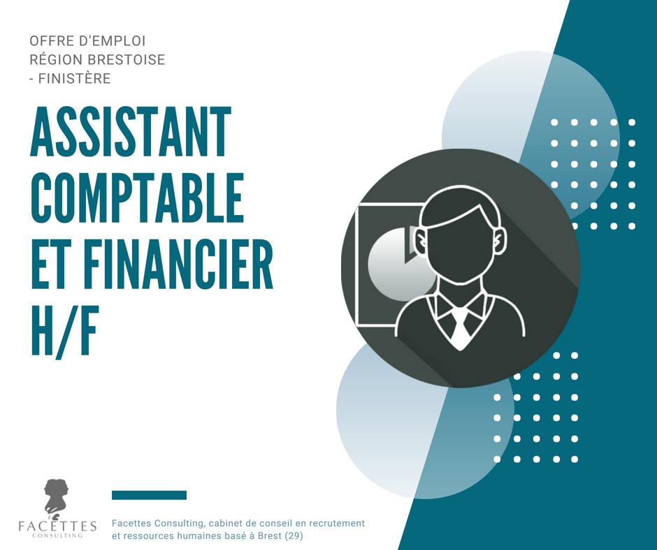 Assistant comptable et financier h f facettes consulting cabinet de recrutement et conseil en - Cabinet recrutement assistanat haut niveau ...