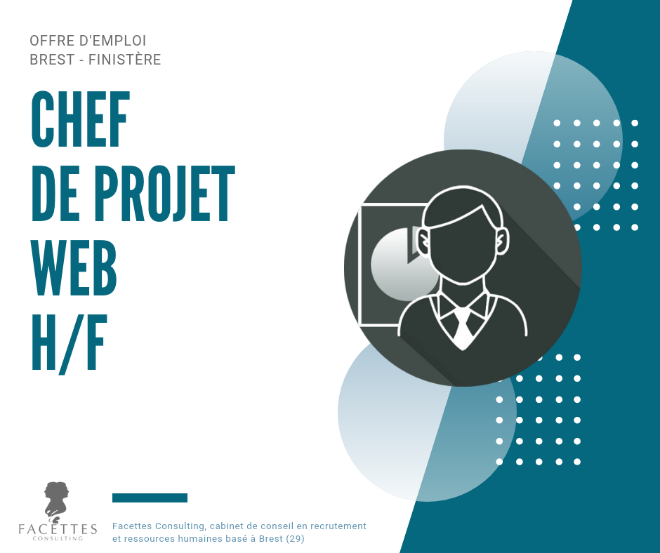 offre emploi brest facettes consulting chef projet web