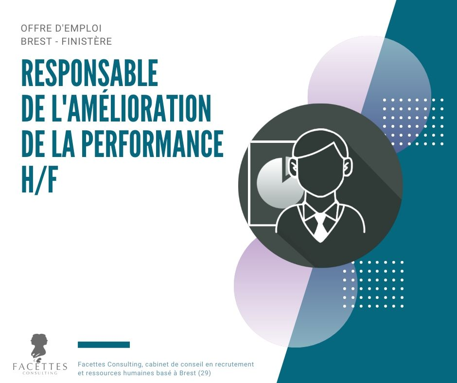 offre emploi brest facettes consulting responsable amelioration performance